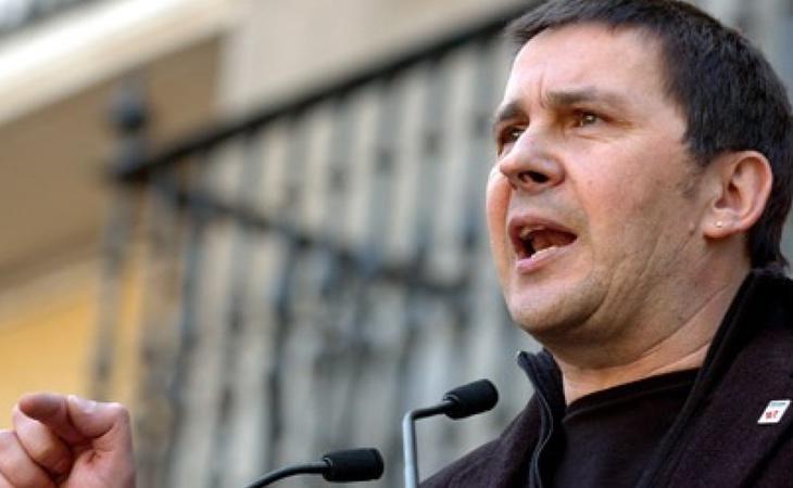 Arnaldo Otegi salió de la cárcel en marzo de 2016