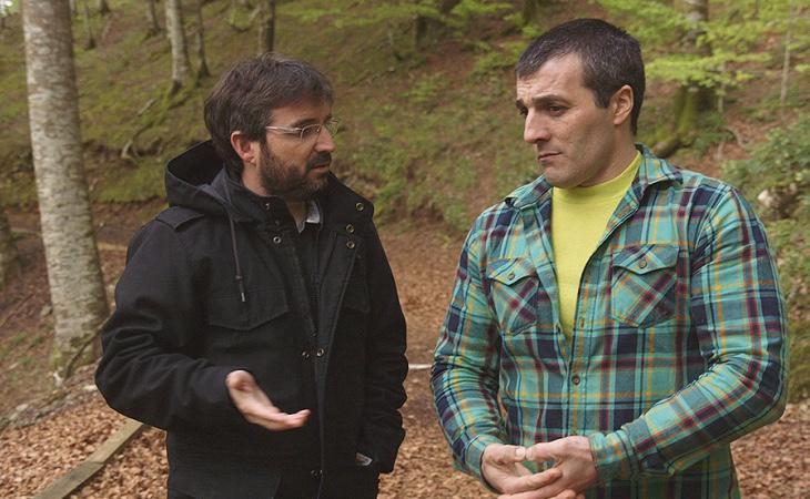 El periodista Jordi Évole entrevista a Iñaki Rekarte