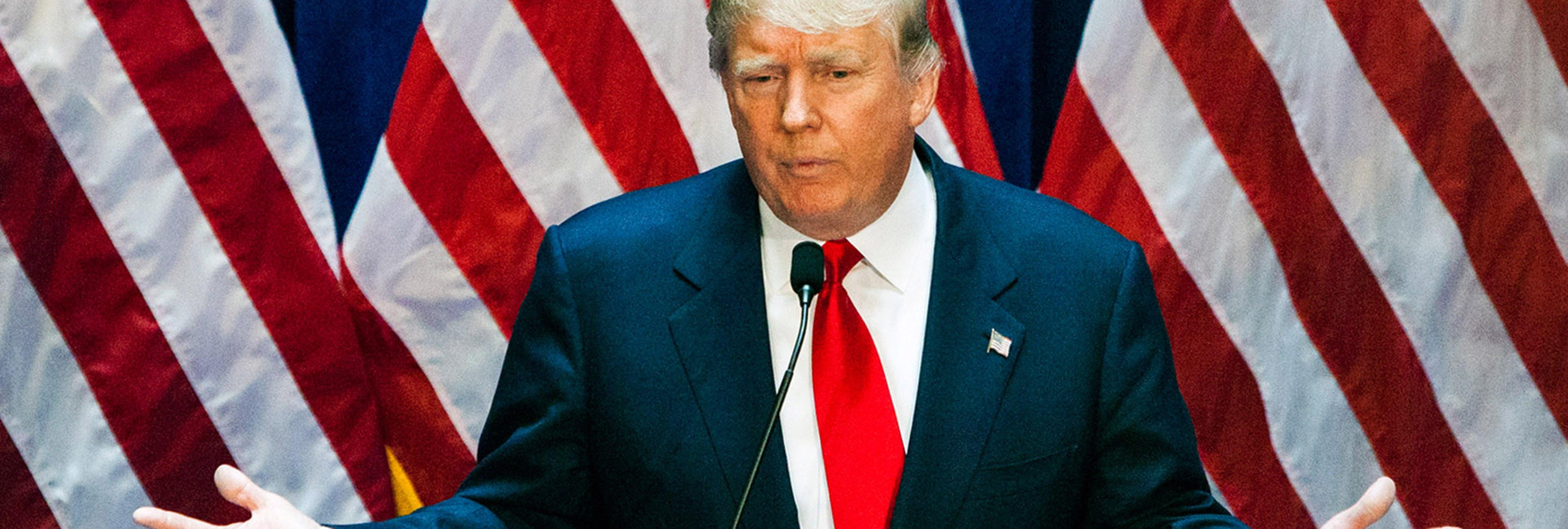 Así sería el mundo si Donald Trump fuera presidente de los EEEUU