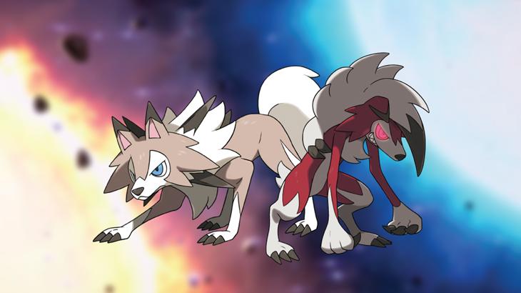 Lycanroc evolucionará de una forma u otra segun si lo hace en 'Pokémon Sol' o 'Pokémon Luna'