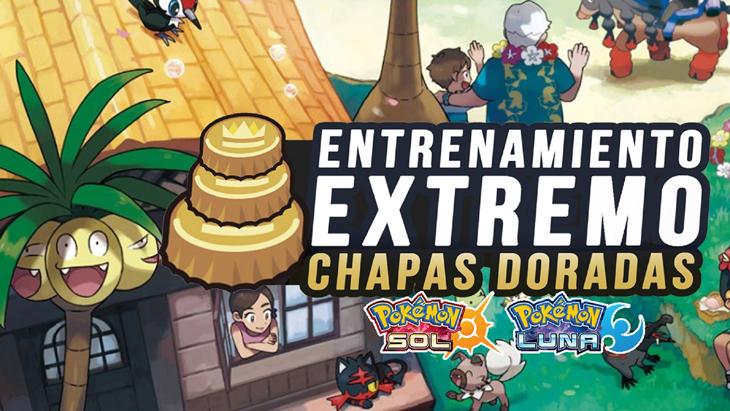 Con el entrenamiento extremo y las 'Chapas' podremos cambiar los genes de los Pokémon