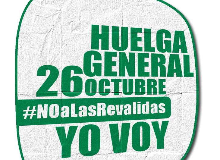 Con el 'NO a las Reválidas' comienzan las protestas estudiantiles del nuevo curso