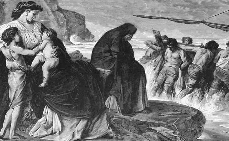 Medea utilizó a sus hijos para hacer daño a Jasón ante su infidelidad