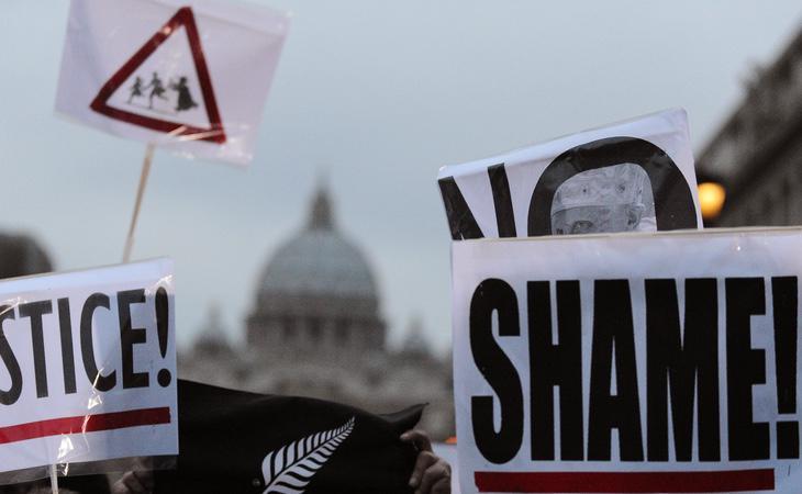 Protestas para pedir sentencias más duras contra los pedófilos