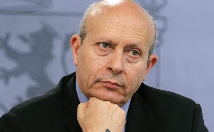 El exministro José Ignacio Wert, promotor de la LOMCE