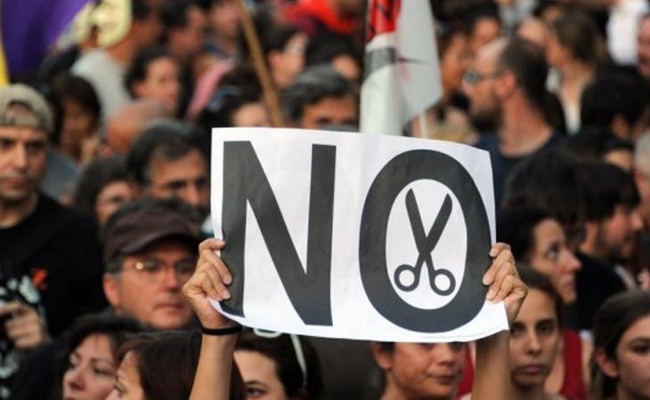 Ha habido cientos de protestas contra los recortes