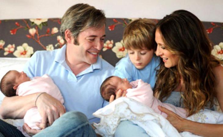 La familia de Sarah Jessica Parker al completo