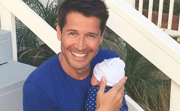 Jaime Cantizano presentó a su hijo Leo en agosto de 2016
