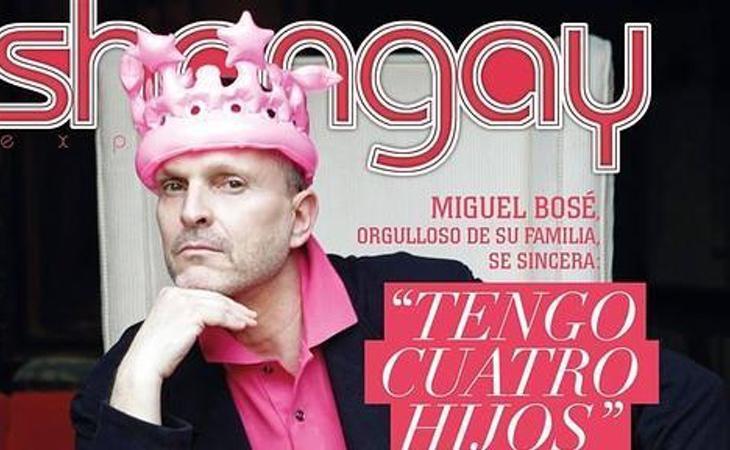 Miguel Bosé sorprendió al mundo que tenía cuatro hijos en vez de dos