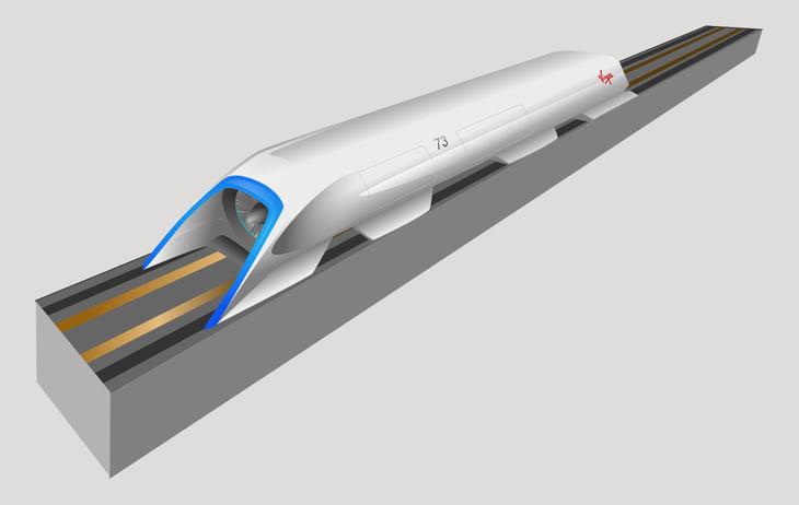 Por 10 veces menos de precio, el Hyperloop promete recortar 2h del trayecto Los Ángeles - San Francisco