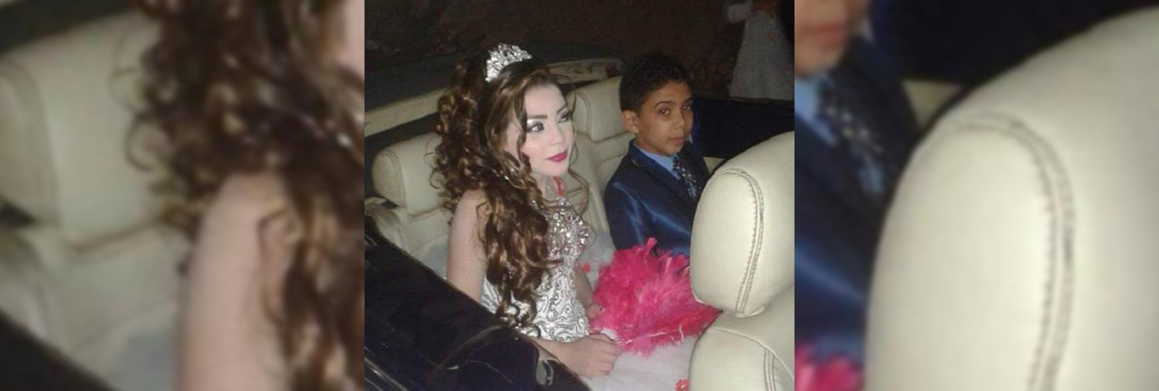 Las fotos del compromiso de dos niños de 11 y 12 años crean gran indignación