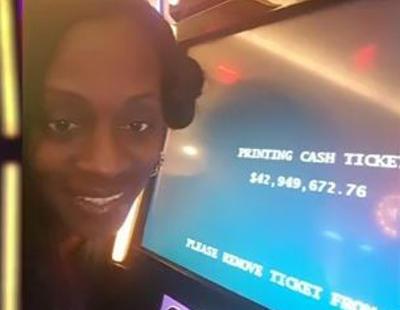 Una mujer gana 43 millones de dólares en una máquina tragaperras y el casino se lo cambia por un bistec