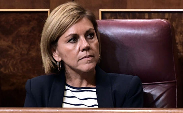 Dolores de Copedal se hace con el Ministerio de Defensa
