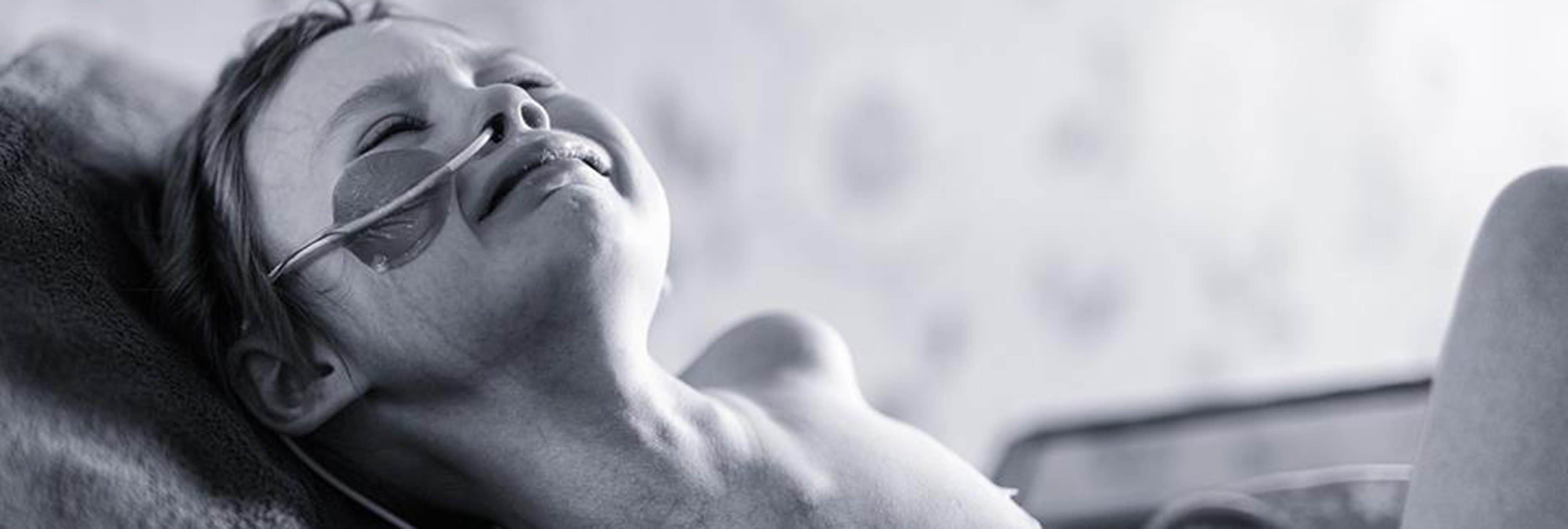 El lado más descorazonador del cáncer infantil retratado en una fotografía