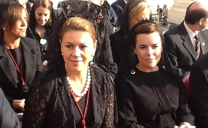 María Dolores de Cospedal y Soraya Sáenz de Santamaría, las mujeres fuertes del PP