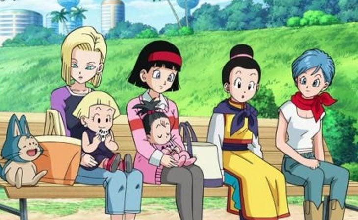 C18, Videl, Chichi y Bulma tienen un rol de madre en 'Dragon Ball' tras casarse