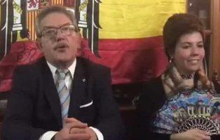 """La polémica parodia de Franco de un edil del PP: """"España y los españoles están en peligro"""""""
