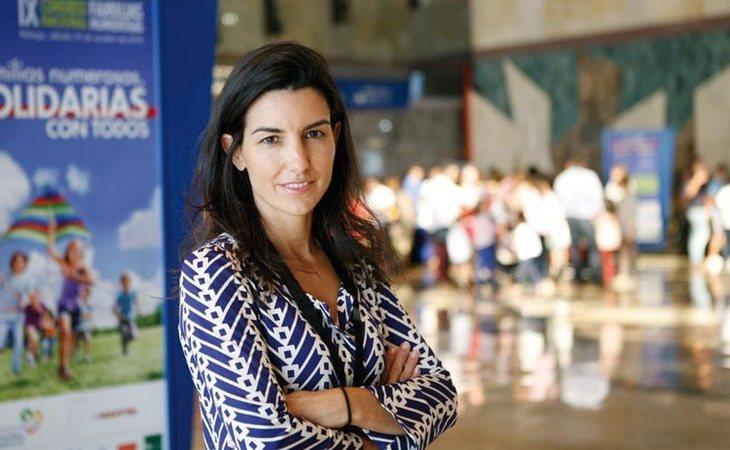 Rocío Monasterio es la líder de VOX en Madrid