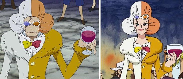 Inazuma aparecía como chico y como chica indistintamente