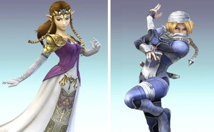 La revelación de que Zelda era Sheik sorprendió a la mayoría de jugadores