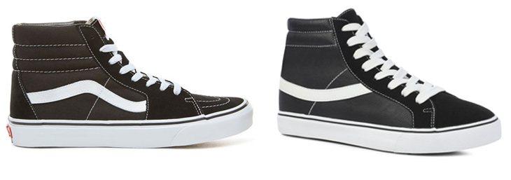 Las SK8-Hi de Vans parecen tener su 'imitación' en Primark: las Skater High a 12 euros