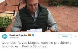 El PP comparte un vídeo en el que le desea la muerte a Pedro Sánchez