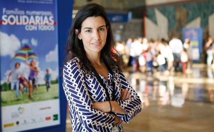Rocío Monasterio es cubana de segunda generación, emigró a Estados Unidos y posteriormente a España