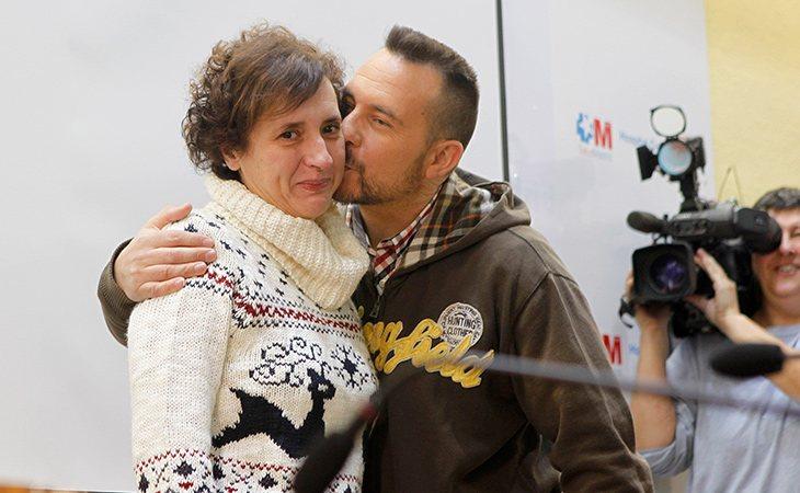 El 1 de noviembre Teresa salió del hospital y pudo volver con su marido y su familia
