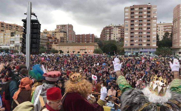 La agresión se produjo en mitad de la Cabalgata de Reyes de Algeciras