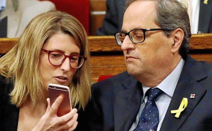 Elsa Artadi, llamada a suceder a Puigdemont, ha abandonado el Govern para convertirse en la número 2 de la candidatura a Barcelona