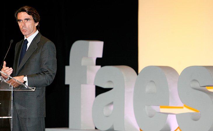 FAES está presidida por José María Aznar, expresidente popular del Gobierno