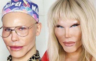 Una drag queen se arranca el rostro para demostrar la hipocresía de internet