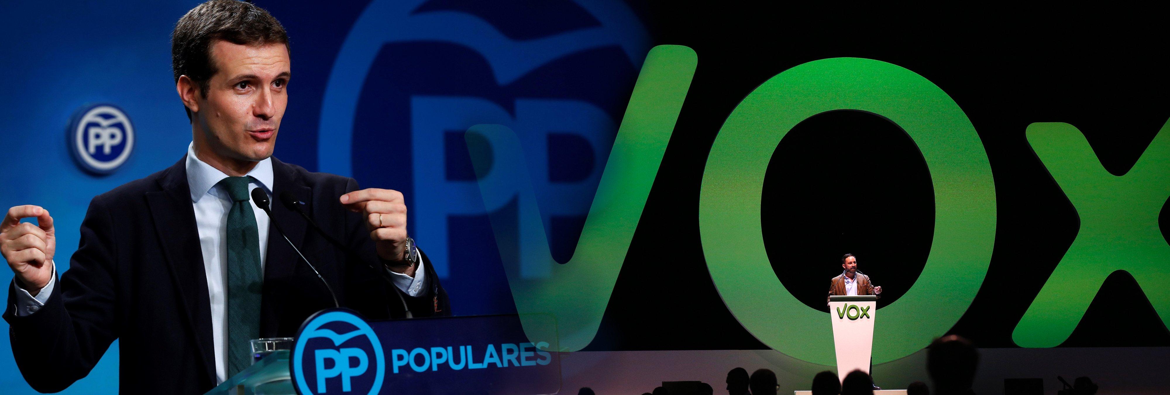 Estos son los 37 puntos del pacto del PP con la extrema derecha de VOX