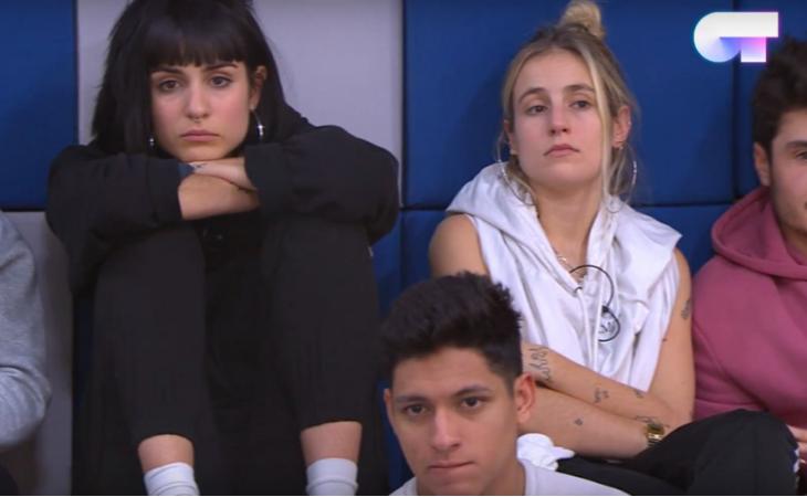 Algunas caras de los triunfitos en la charla sobre Eurovisión