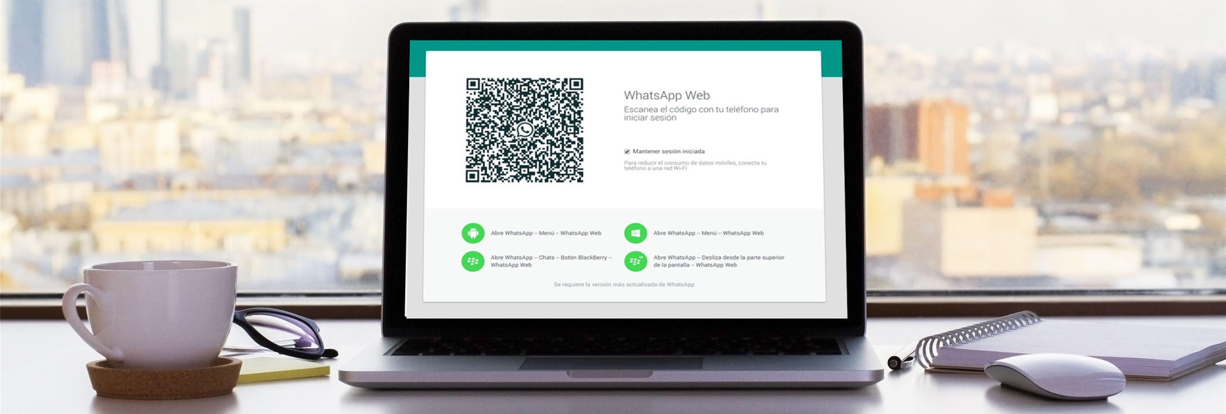 Peligros y riesgos de usar WhatsApp Web en el ordenador del trabajo