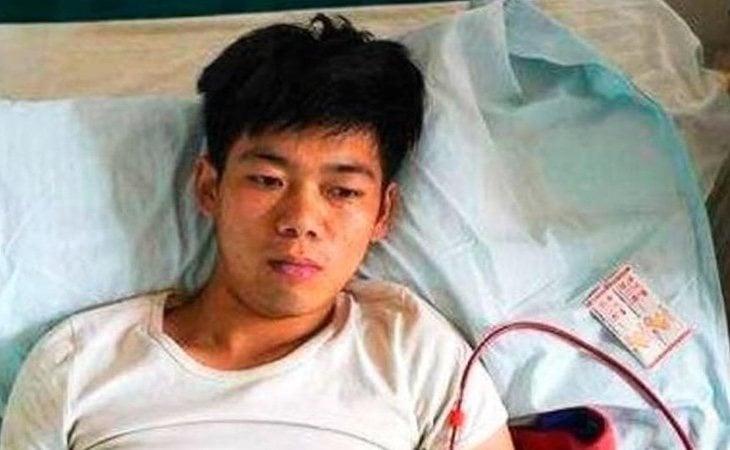 Xio Wang recibe constante atención médica
