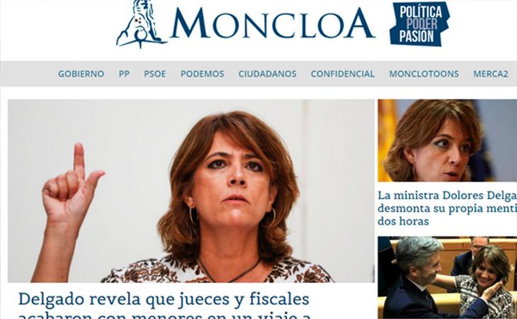 Las publicación de los audios de Dolores Delgado en una pequeña web han puesto en jaque la solidez del Gobierno