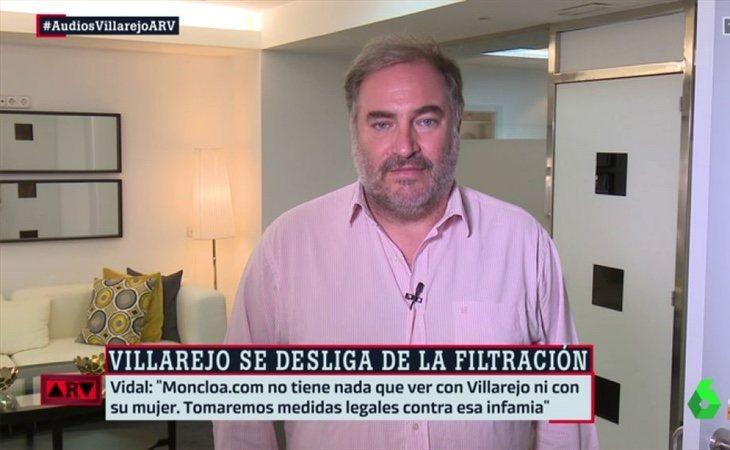 Joaquín Vidal asegura que Moncloa y Jaume Roures mantenían buena relación | Fotografía: LaSexta