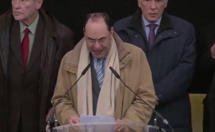 Vidal-Quadra participó a diferentes actos multitudinarios bajo el lema 'Irán Libre'