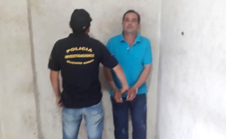 El dueño de la casa se encuentra detenido