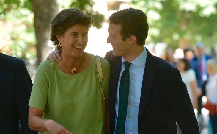 Casado ha recuperado a miembros del sector 'duro' como María San Gil