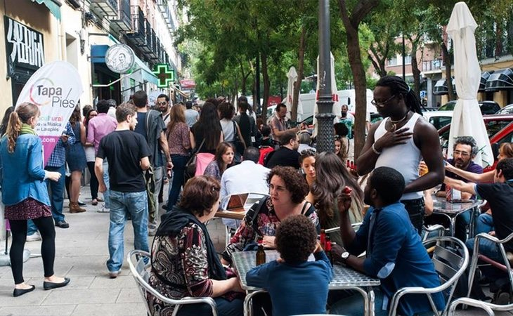 Lavapiés se ha convertido en un ejemplo de interculturalidad en España