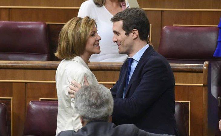 Cospedal está vetada en el PP a pesar de que entregó todo el aparato a Pablo Casado