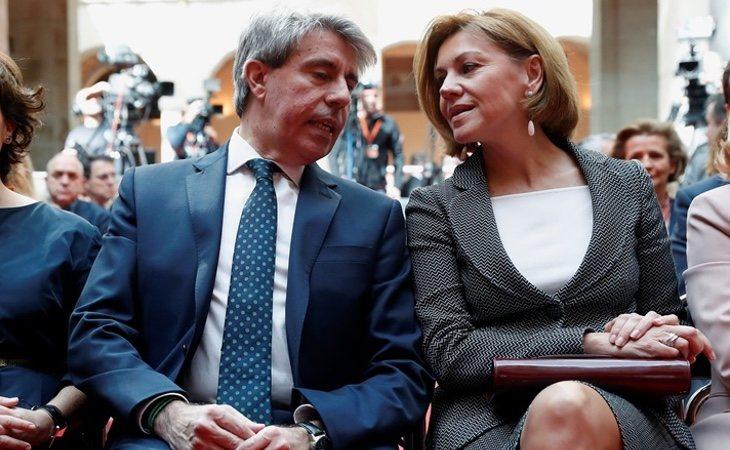 Cospedal no ha tenido, siquiera, la oportunidad de colocar a Ángel Garrido como candidato del PP en Madrid