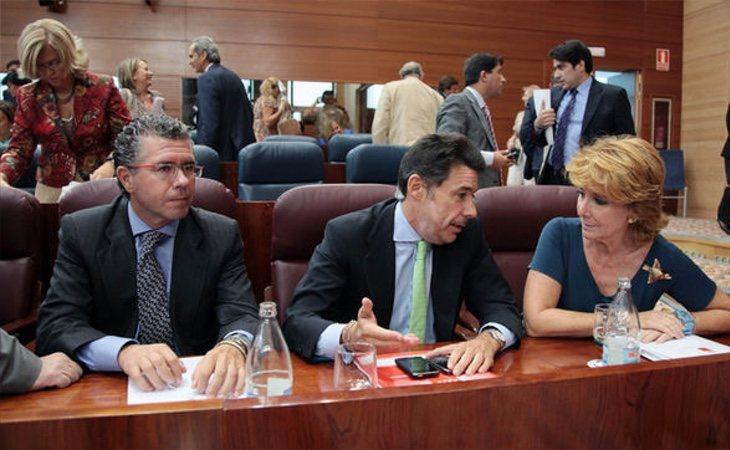 Ignacio González y Francisco Granados supieron abandonar sus diferencias para dinamitar a Cristina Cifuentes