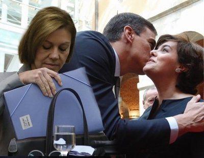 Cospedal y Soraya, ¿dispuestas a aliarse con Pedro Sánchez para dinamitar a Pablo Casado?