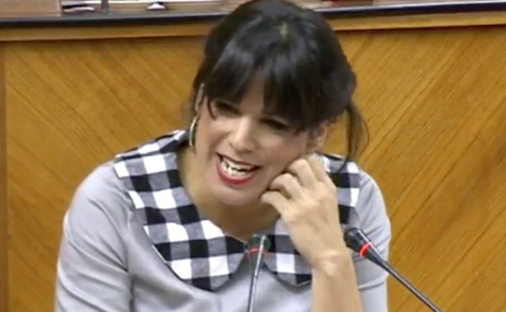 Teresa Rodríguez critica los puntos sobre violencia de género, materia LGTB e inmigración del pacto PP-VOX