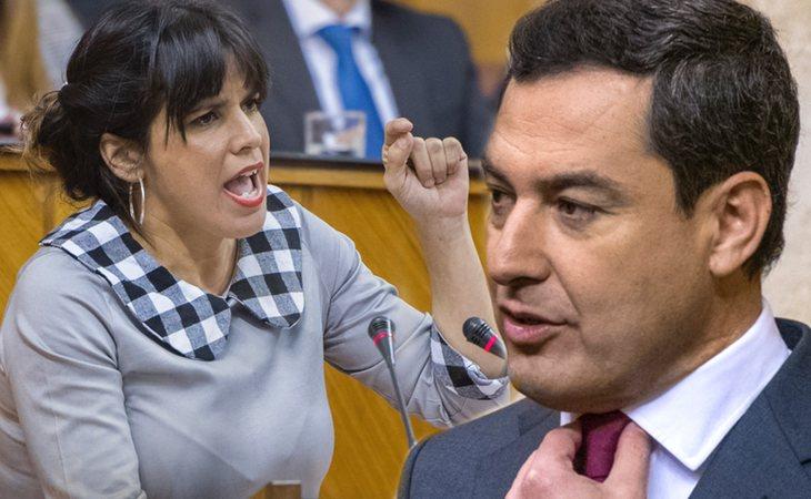 Juanma Moreno Bonilla culpa a Teresa Rodríguez de 'meter miedo'