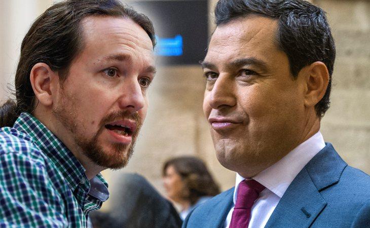 Juanma Moreno Bonilla saca a relucir la casa de Pablo Iglesias
