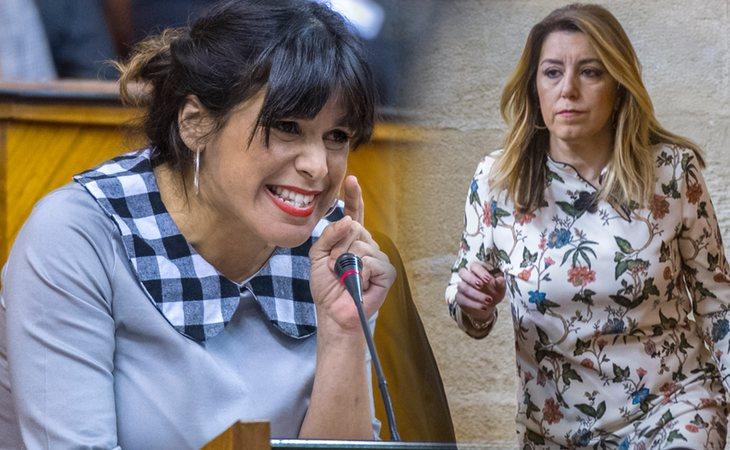 Teresa Rodríguez culpa a Susana Diaz de haber abierto la puerta a la derecha